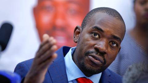 Zimbabwe's Chamisa challenges election result