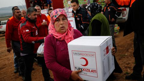 Turkish Red Crescent celebrates 150 years of service