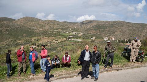 Assad regime begins strikes on Syria's Turkmen Mountain