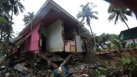 Flash floods kill 37 in India's tourist hotspot Kerala