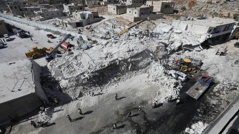 Death toll in Syria arms depot blast rises to 69: monitor