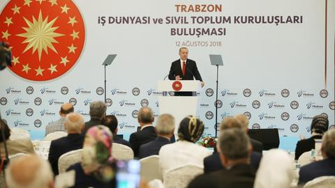 Erdogan: bye bye to those who prefer terrorists