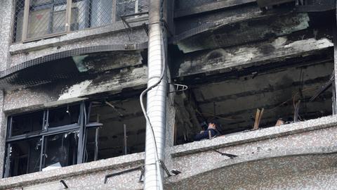 Nine killed in Taipei hospice blaze