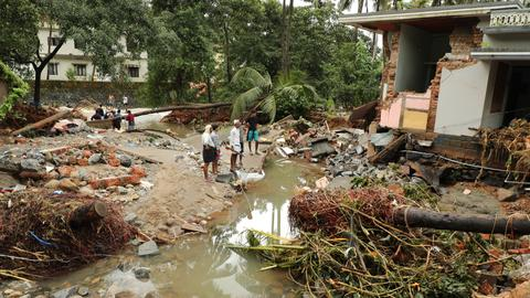 At least 39 killed in floods ravaging south Indian state