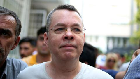 Turkish court sentences Brunson to 3 years, frees US pastor on time served