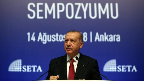 Erdogan calls for boycott of US-made electronic products