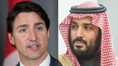 Canada isolated in row with Saudi Arabia