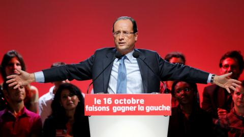 France's president will not seek re-election