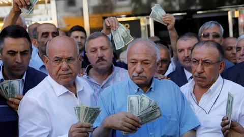 Turkey's currency woes drive efforts to seek new friends
