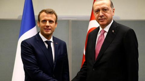 Turkish, French presidents speak by phone