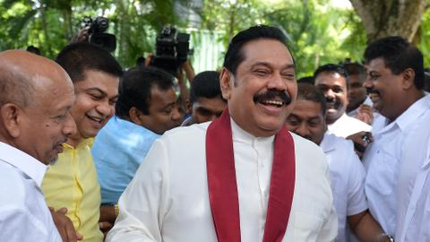 Sri Lanka ex-president claims 'witch hunt' over kidnap probe