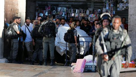 Israel closes Al Aqsa Mosque compound to public