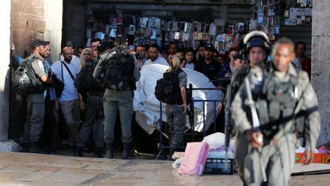 Israel closes Al Aqsa Mosque compound to public