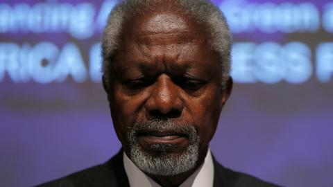 Tributes laud Annan as man of peace and champion of rights