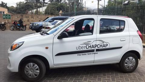 Uber to push further into East Africa with services like Chapchap