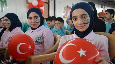 Syrian refugee children get education in Turkey