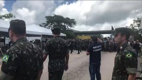 Brazil sends troops after clashes at Venezuela border