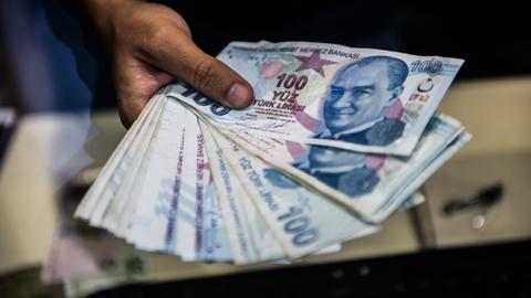 Turkish lira trades steady after Friday's rating downgrades