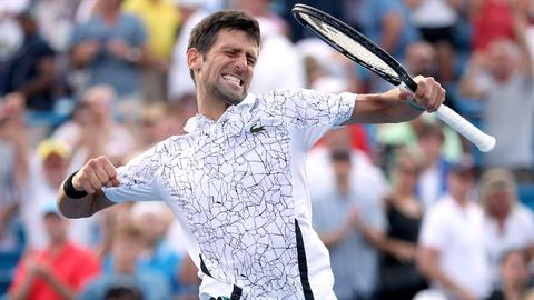 Djokovic downs Federer to win elusive Cincinnati title