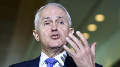 Australian prime minister wins leadership challenge
