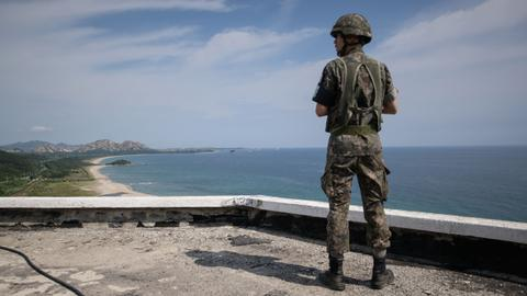 US supports plan to reduce Korean DMZ outposts