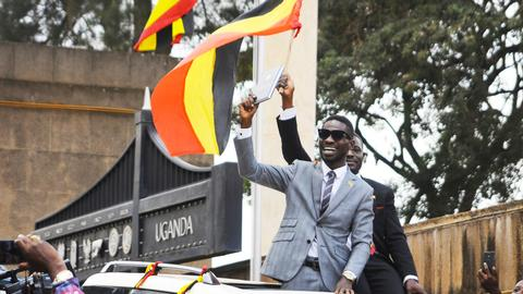 Uganda's pop star-turned-lawmaker now facing treason charges