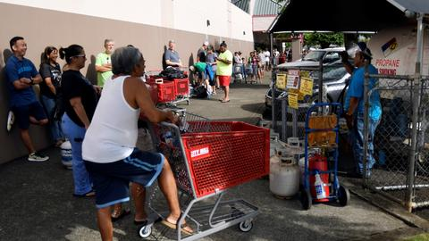 Hurricane Lane soaks Hawaii's Big Island