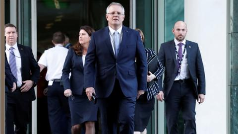 Scott Morrison becomes Australia's 30th prime minister