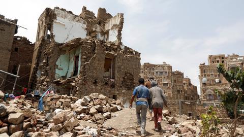 Yemen's Houthis say coalition strikes kill dozens, UAE denies it