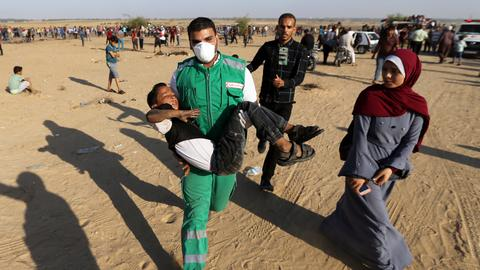 At least 50 Palestinians injured by Israeli forces in Gaza