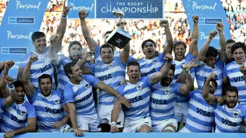 Sanchez inspires Pumas to rare Rugby Championship victory over Boks