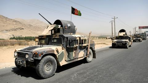 At least 13 Afghan security officials killed in Taliban attack