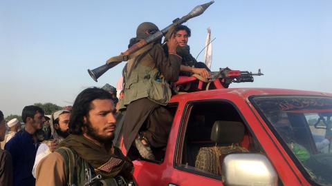 Air strikes on Afghan border area kill at least six gunmen – officials