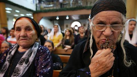 Christians in Iraq dwindle and struggle to survive