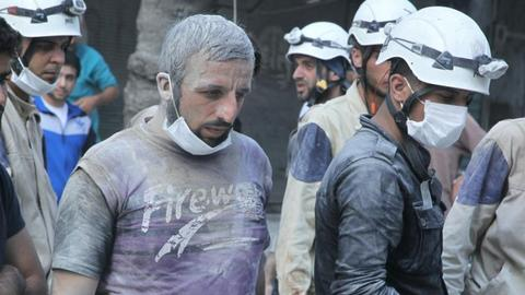 White Helmets brace for possible regime offensive in Syria's Idlib