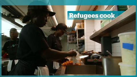 Emma's Torch serves up food made by refugees