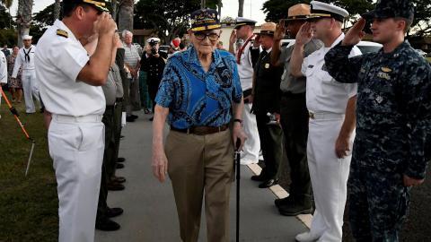 US commemorates 75th anniversary of Pearl Harbor attack