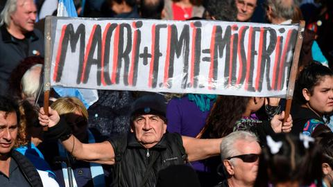Argentina seeks controversial $50bn IMF loan