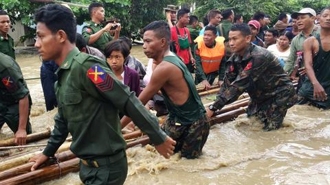 Over 63,000 displaced as Myanmar dam burst floods 85 villages