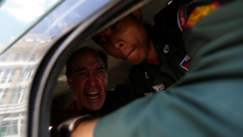 Australian arrested at Cambodian rally sentenced to six years for espionage