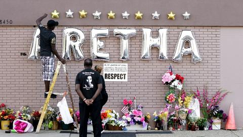 Detroit hosts star-studded funeral for Aretha Franklin