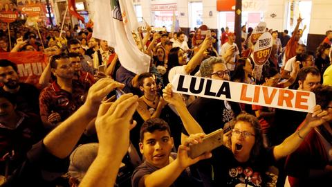 Brazil's electoral court to decide whether Lula can run