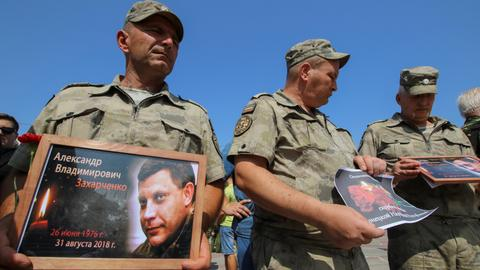 Russia says talks on Ukraine in