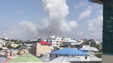 Bomb attack strikes local government office in Mogadishu — police