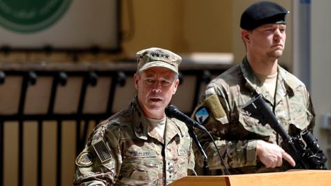 New army general assumes NATO mission in Afghanistan