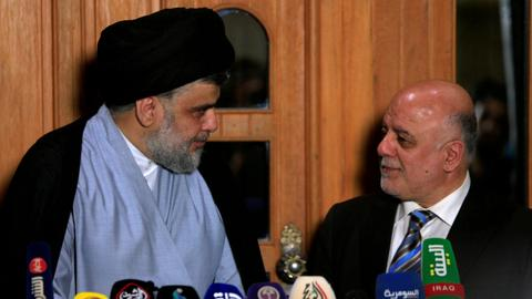 Iraqi groups announce bloc to form parliamentary majority