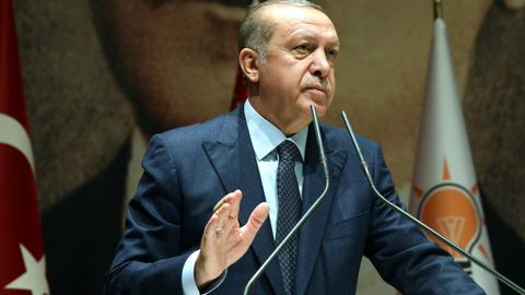 Erdogan says an attack on Idlib 'would be a massacre'