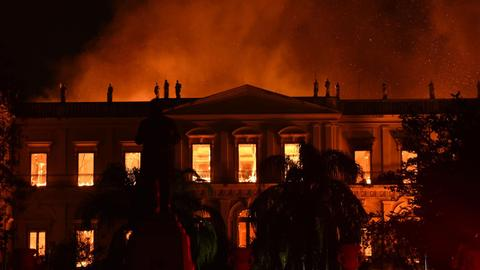 Researchers announce items that survived Brazil museum fire