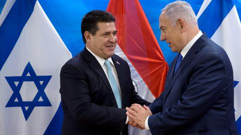 Israel retaliates after Paraguay moves its embassy back to Tel Aviv