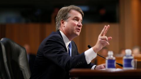 Senators grill Kavanaugh about White House subpoenas, pardons and abortions